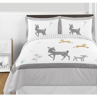 Sweet Jojo Designs Forest Deer Collection Full/Queen 3-piece Comforter Set