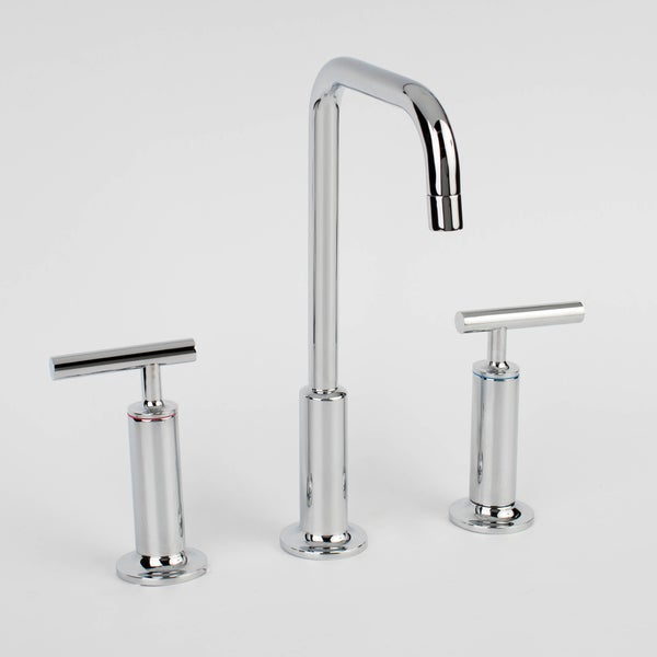 shop prelude three piece 8 inch widespread lavatory faucet free shipping today. Black Bedroom Furniture Sets. Home Design Ideas