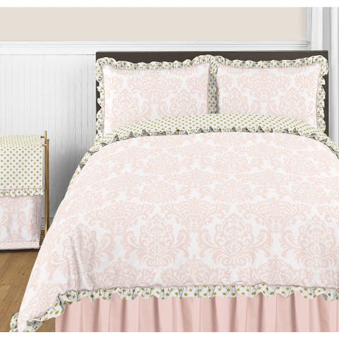 Sweet Jojo Designs Amelia Collection Full/Queen 3-piece Comforter Set