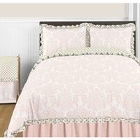 Sweet Jojo Designs Amelia Collection Full/Queen 3-piece Comforter Set