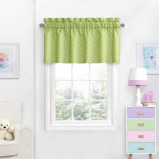 Eclipse Kids Dots Blackout Curtain Valance - 42X18
