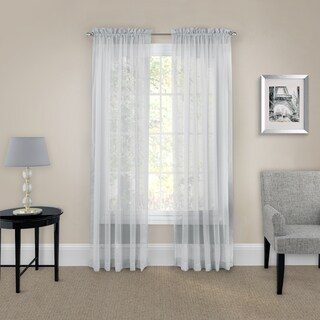 Pairs to Go Victoria Voile Curtain Panel Pair