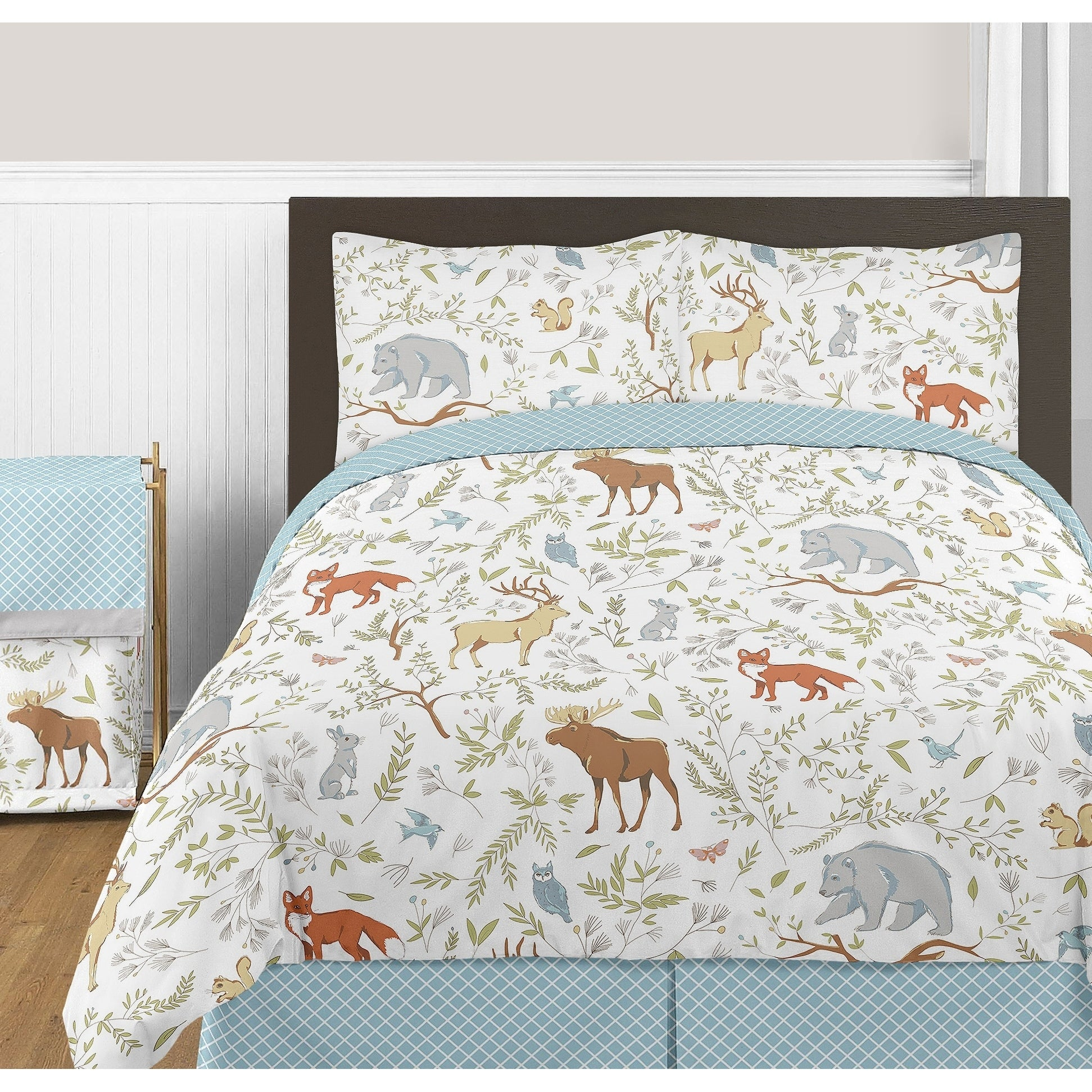 JoJo Designs Woodland Toile Collection Full/Queen 3-piece...