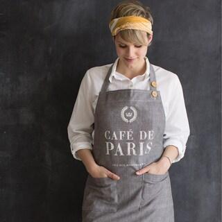 Café de Paris Apron Basic Unisex by Now Designs