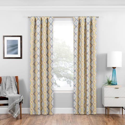 Eclipse Morrow Blackout Window Curtain Panel