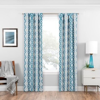 Eclipse Morrow Blackout Window Curtain Panel (More options available)