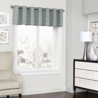 Eclipse Trevi Blackout Grommet Window Valance - 52x18