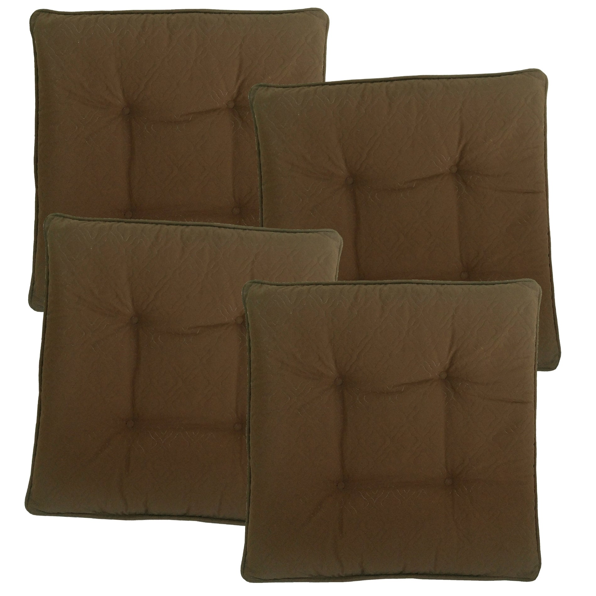 Sonic Quilted Gripper Slim Seat Cushions (4-Pack) (Lobste...