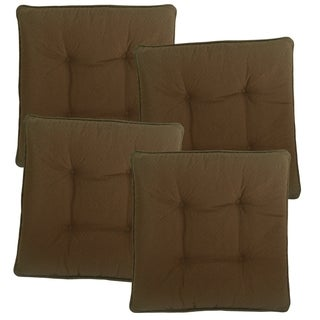 Sonic Quilted Gripper Slim Seat Cushions (4-Pack)