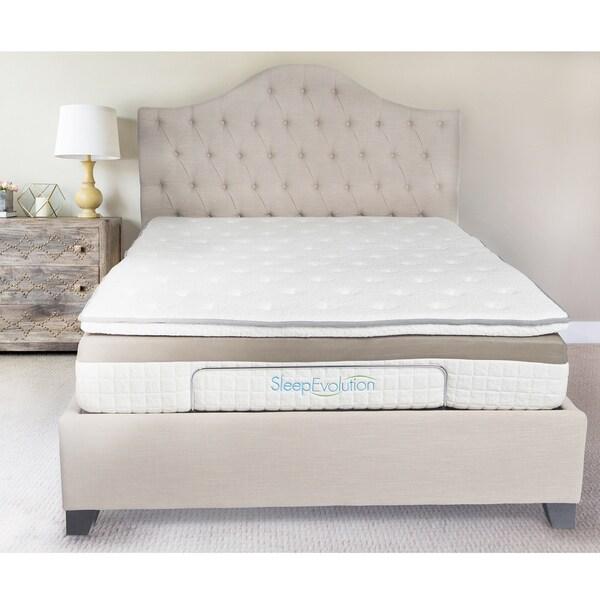 sleep evolution 12inch queensize luxury gel hybrid mattress