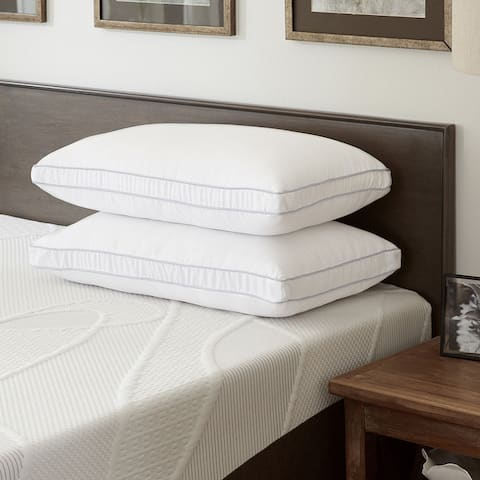 ComforPedic Loft from Beautyrest Fiber and Memory Foam Standard Size Pillow (Set of 1 or 2)