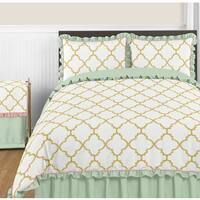 Sweet Jojo Designs Ava Collection Full/Queen 3-piece Comforter Set