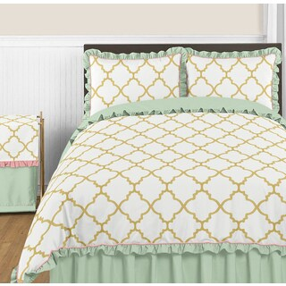 Sweet Jojo Designs Ava Collection Full/Queen 3-piece Comforter Set