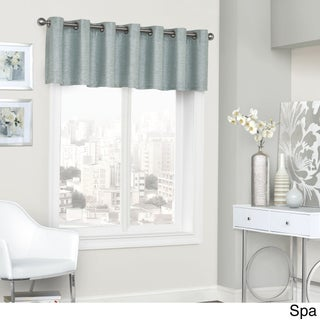 Eclipse Presto Blackout Grommet Window Valance (2 options available)