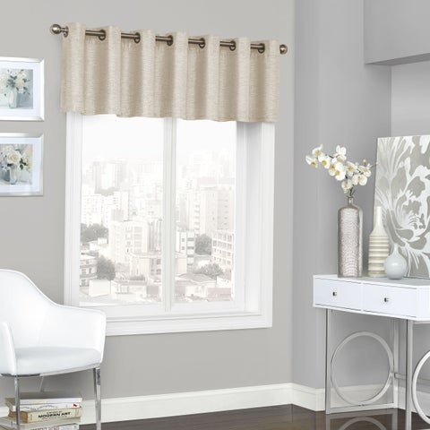 Eclipse Presto Blackout Grommet Window Valance - 52x18