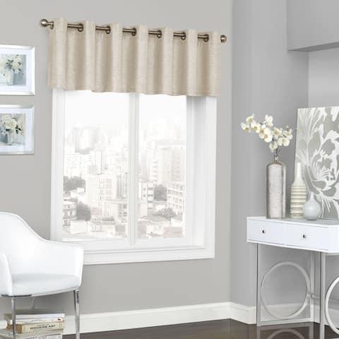 Eclipse Presto Room Darkenin Grommet Window Valance - 52x18