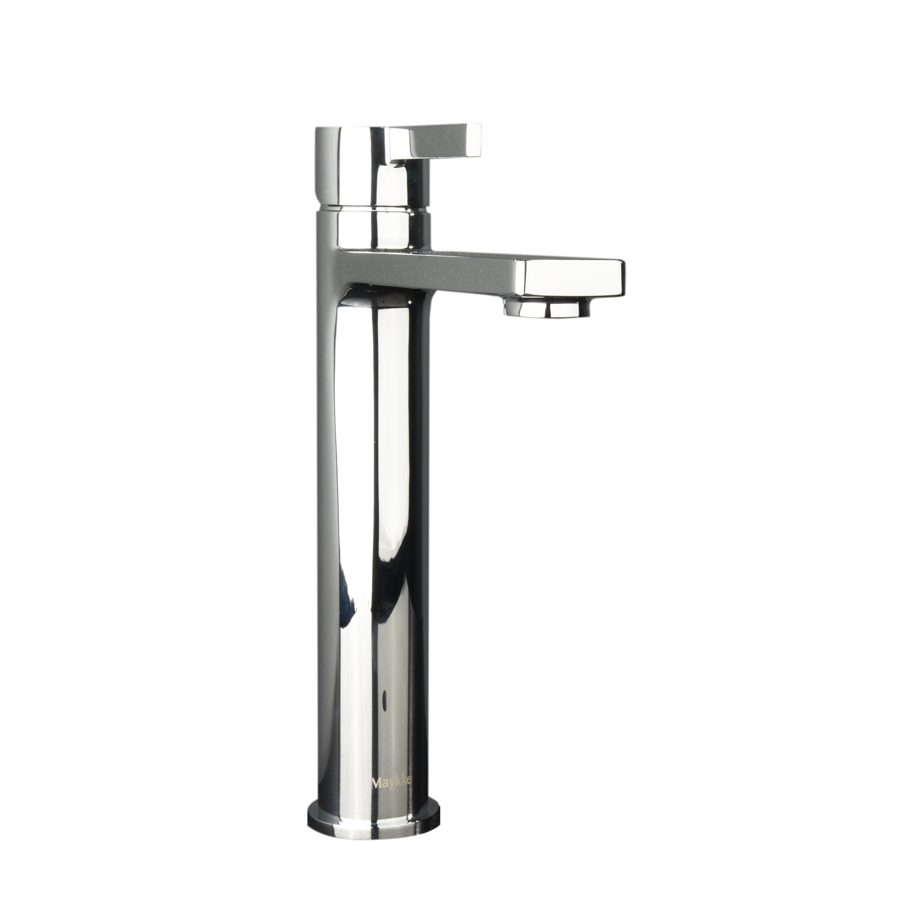 Maykke Friedrich Tall Single Lever Faucet (Polished Chrom...