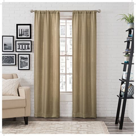 Porch & Den State Metallic Curtain Panels