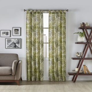 Pairs to Go Marley Tropical Window Curtain Panel Pair
