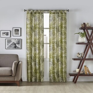 Havenside Home Key Biscayne Tropical Window Curtain Panel Pair