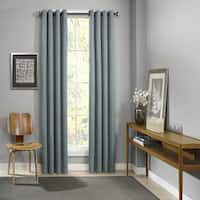 Eclipse Palisade Blackout Grommet Window Curtain Panel