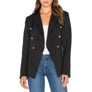 Derek Lam 10 Crosby Navy Blue Cotton Blazer