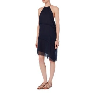 Love Sam Navy Tiered Mini Dress (4 options available)