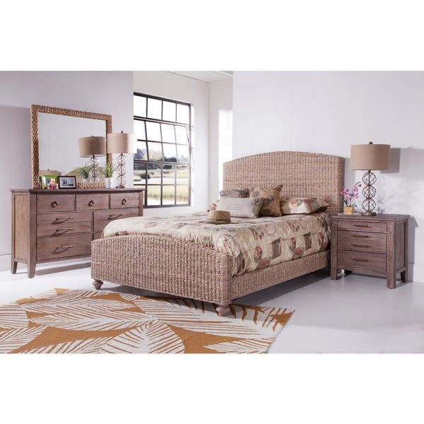 driftwood woven bed by panama jack free shipping today overstockcom 21200252 - Driftwood Bed Frame