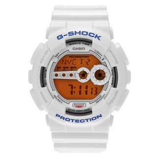 Casio Men's GD100SC-7 'G-Shock' White Resin Digital Dial Strap Watch|https://ak1.ostkcdn.com/images/products/14663949/P21200264.jpg?impolicy=medium