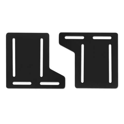 STRUCTURES by Malouf Queen Bed Frame Headboard Bracket Modification Plate Modi, (Set of 2)