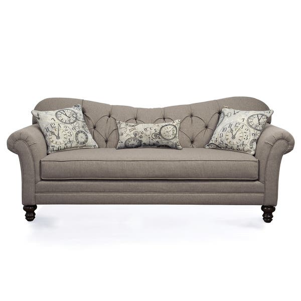 Amazing Shop Metropolitan Taupe Fabric Upholstery Sofa With Loveseat Ibusinesslaw Wood Chair Design Ideas Ibusinesslaworg