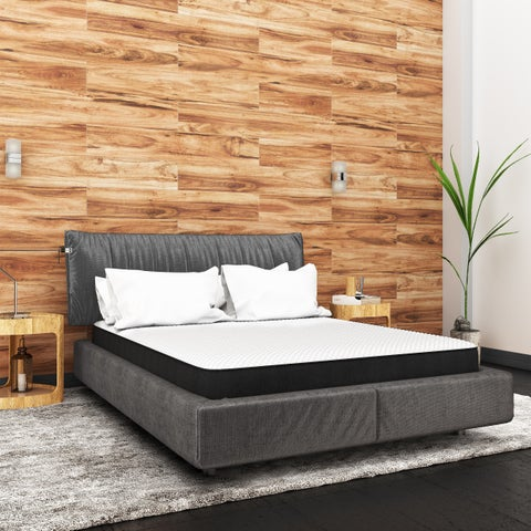 FENIX Storm 11.5-inch Cal King-size Latex and Gel Memory Foam Mattress