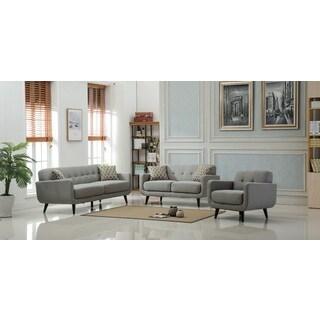 Modibella Contemporary Tufted 3-Piece Living Room Sofa Set