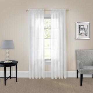 Pairs to Go Victoria Voile Curtain Panel Pair