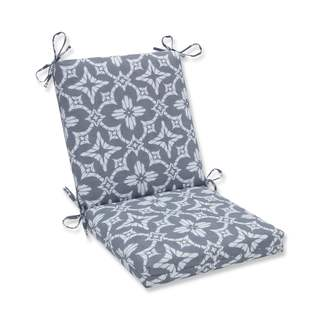 Pillow Perfect Outdoor/ Indoor Aspidoras Gray Squared Corners Chair Cushion