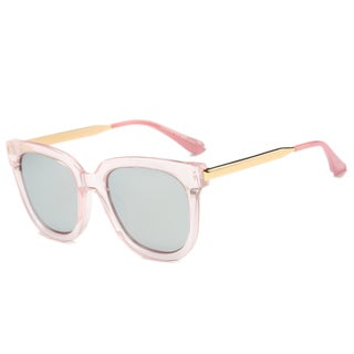 Link to Dasein Polarized Square Sunglasses with Slim Metal Arms Similar Items in Women's Sunglasses