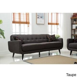 Modibella Contemporary Tufted Sofa (Option: Taupe)
