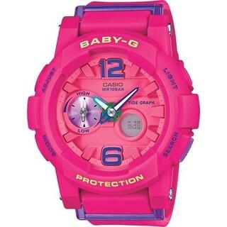Casio Baby-g BGA180-4B3 Pink/Pink Analog Quartz Women's Watch
