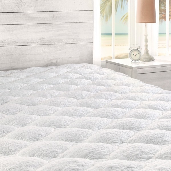 Kotter Home Cooling Mattress Pad with Fitted Skirt