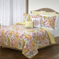 Bliss Printed Quilt and Sham Set