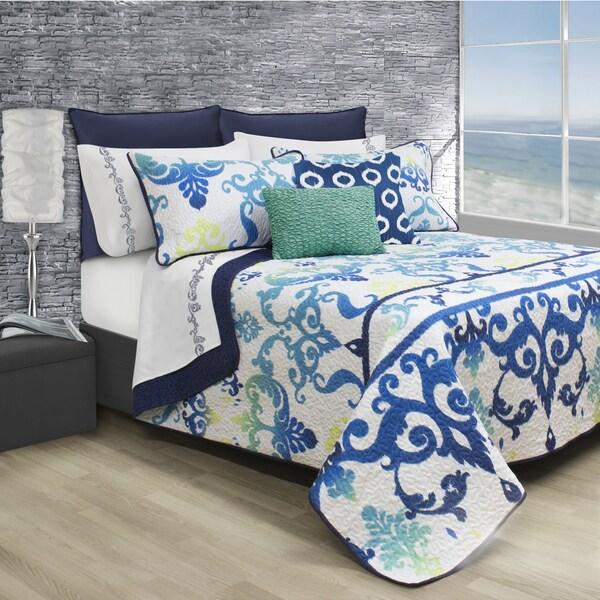 Artizan Printed Quilt and Sham Set
