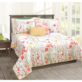 Adalia Printed Quilt and Sham Set