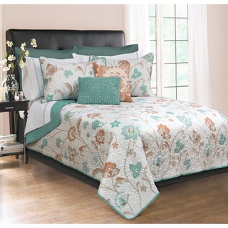 Camille Printed Quilt and Sham Set