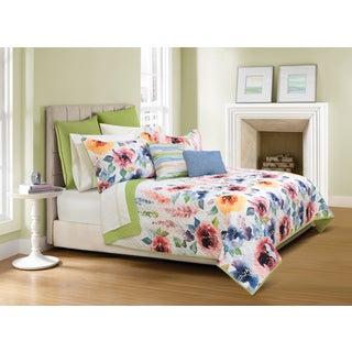 Talia Floral Quilt and Sham Set