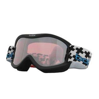 Bolle Unisex 21301 Volt Plus Black Frame, Vermillion Gun Lens Ski/Snowboard Goggles