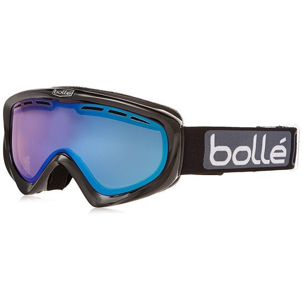 Bolle Unisex 20850 Y6 OTG (Shiny Black/Vermillion Blue) Snow Goggles