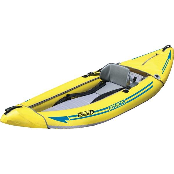 Attack Whitewater Yellow PVC Kayak