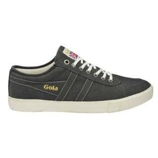 Men's Gola Comet Twill Sneaker Black Cotton