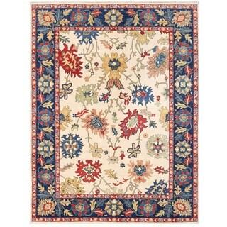 Handmade Vegetable Dye Oushak Wool Rug (Afghanistan) - 8'9 x 11'7
