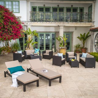Puerta Outdoor 10-piece Wicker Patio Set with Cushions by Christopher Knight Home|https://ak1.ostkcdn.com/images/products/14675121/P21210172.jpg?impolicy=medium